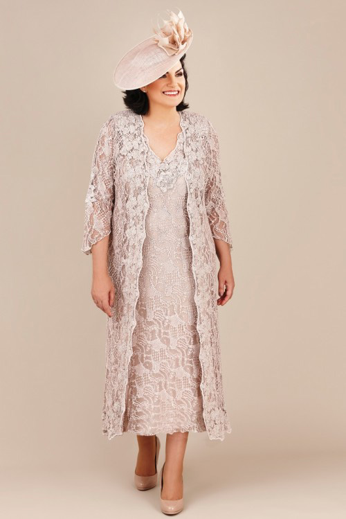 Ann balon mother of the bride plus size dresses special for Dress and jacket outfits for weddings